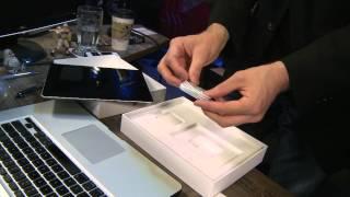 Tom Merritt New iPad unboxing