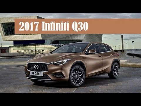 2017 infiniti q30 official world debut on september 15 at the 2015 frankfurt auto show youtube. Black Bedroom Furniture Sets. Home Design Ideas