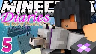 The Docks & Dolphin  | Minecraft Diaries [S1: Ep.5] Roleplay Survival Adventure!