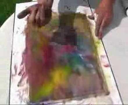 artiste peintre cr ation en direct d 39 un tableau youtube. Black Bedroom Furniture Sets. Home Design Ideas