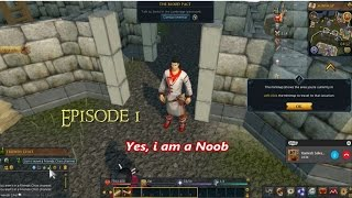 Runescape Ep1- Console Noob plays ROONSKAPZ, GENOCIDE NPCs, learning the ropes