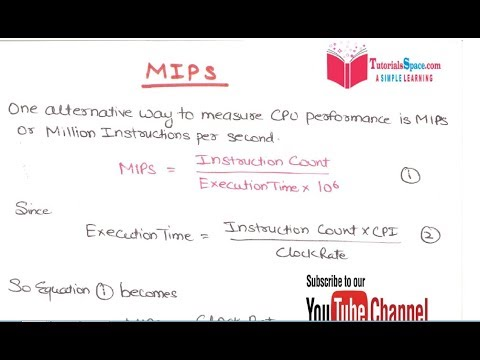 25- Performance Metrics- MIPS | million instructions per second | Computer Architecture-Organization