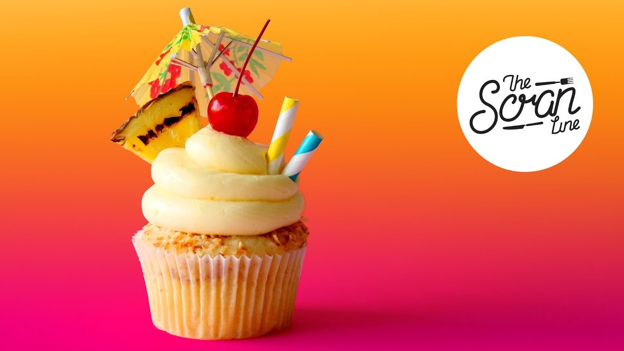 Pi 209 A Colada Cupcakes Competition The Scran Line Youtube