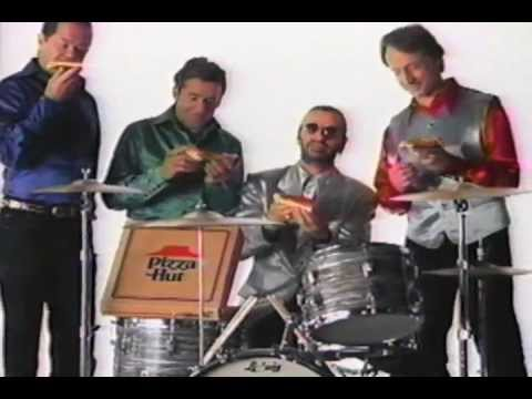 Bo and Jim - Ringo Starr's Pizza Hut Commercial, featuring the Monkees from the '90s