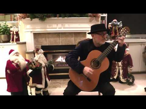 Angels We Have Heard on High - Michael Lucarelli, classical guitar (Christmas)