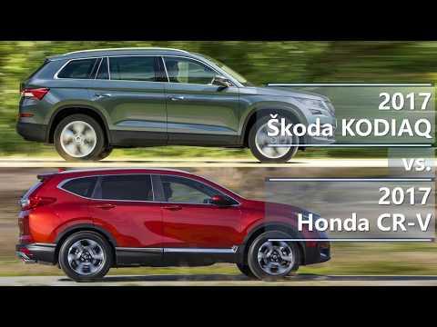 2017 Skoda Kodiaq vs 2017 Honda CR-V (technical comparison)