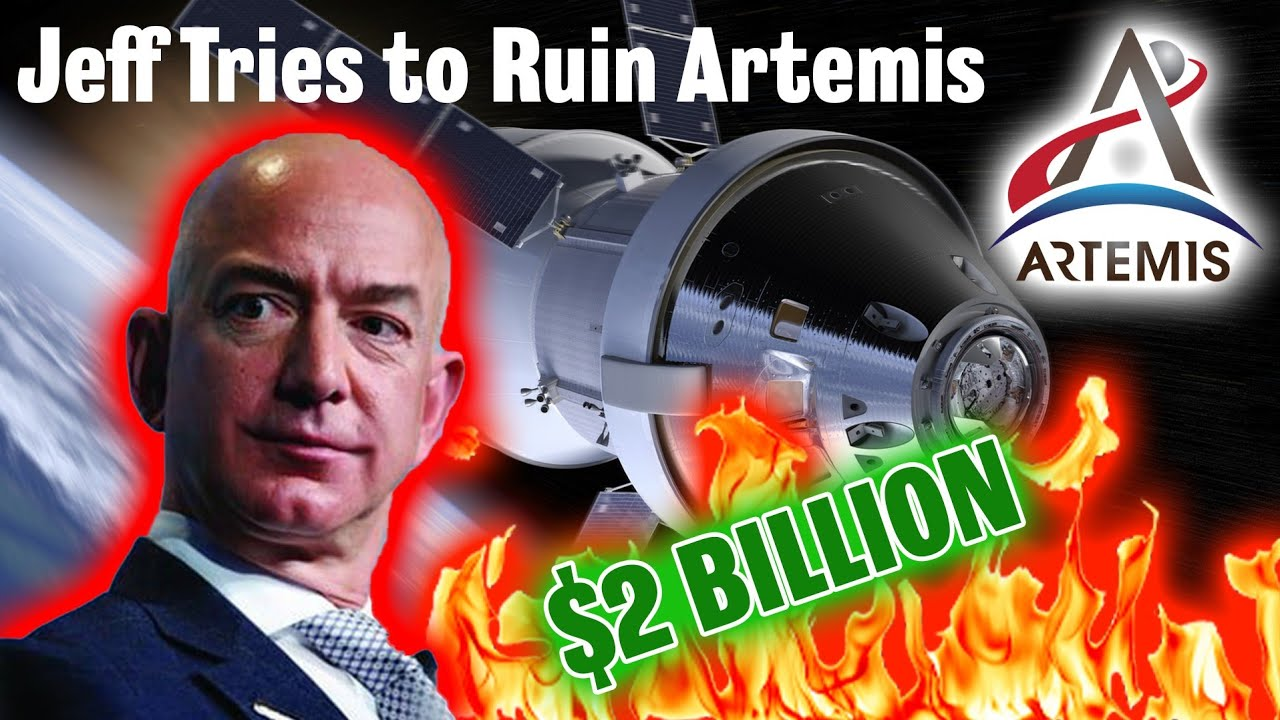 Blue Origin's $2 Billion offer to NASA is VERY bad for Artemis! (Check my Twitter re GAO decision)