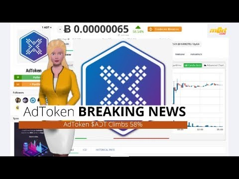Cryptocurrency AdToken $ADT Has Risen 58% During the Past 24 Hours 10