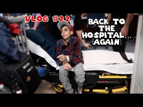 Vlog #22 - Back to the Hospital... (Again) - SuperSkip64