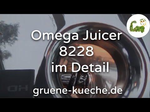 Omega Juicer 8228 - Entsafter im Test und ausführlich vorgestellt (Teile 1-4)