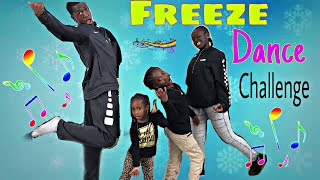 FREEZE DANCE CHALLENGE!! SO EPIC!