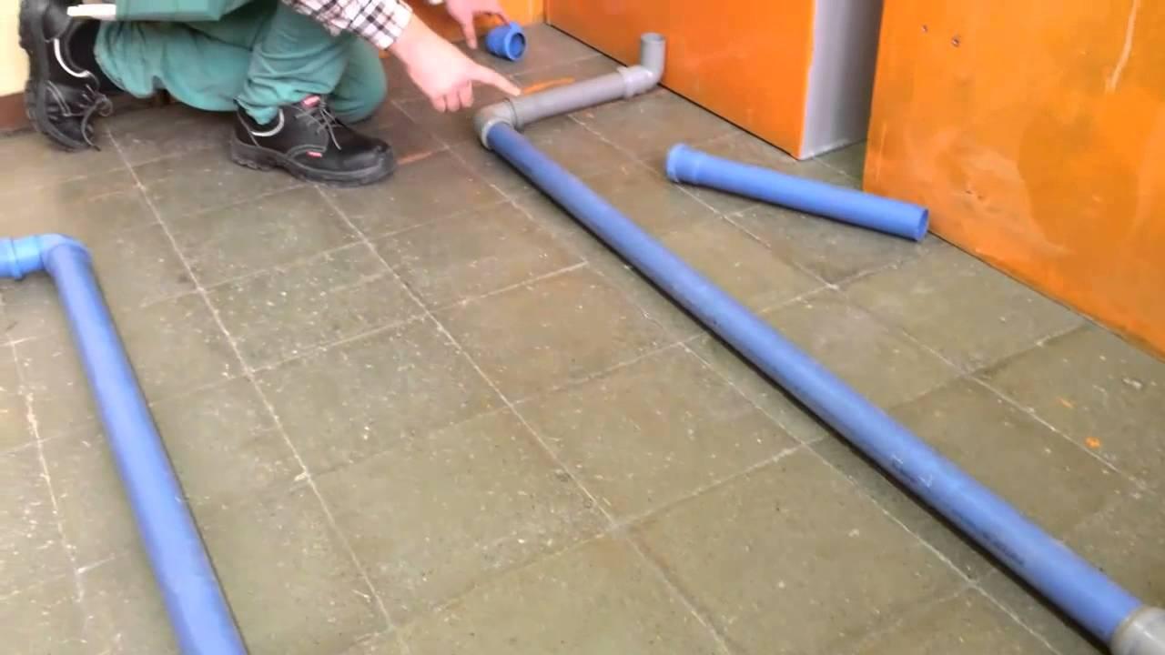Impianto di scarico di un locale sanitario youtube