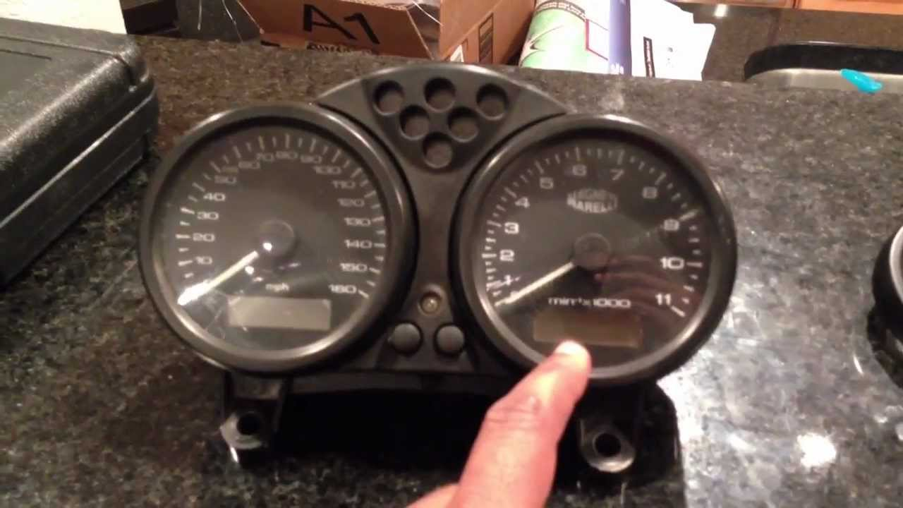 Repairing a Tachometer with a slipping needle