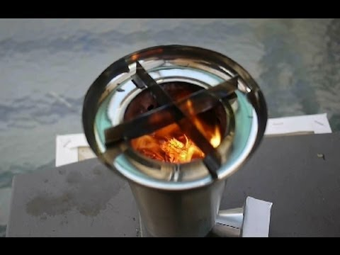 My Best Woodgas Camping Stove- Stainless Steel, Fan-forced, TLUD