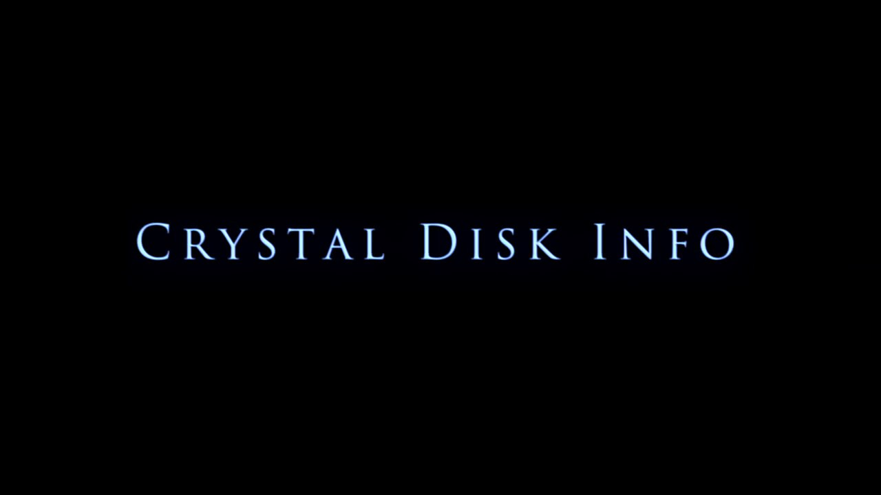 HOW TO: Use Crystal Disk Info