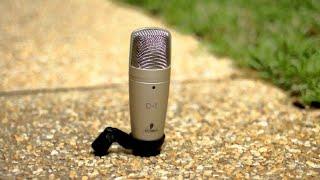 добавочное видео к обзору микрофона Behringer C-1. Тест с максимальным усилением