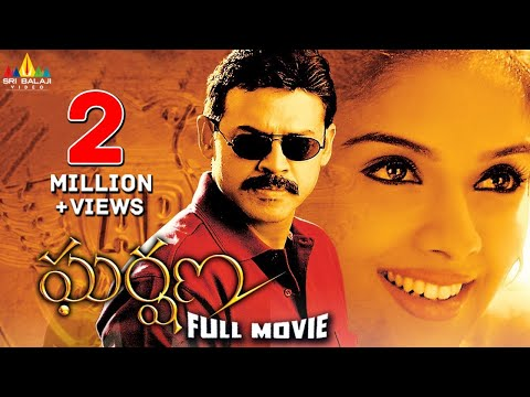 Gharshana Telugu Full Movie | Telugu Full Movies | Venkatesh, Asin, Gautham Menon