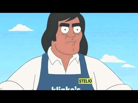 American Dad I Stellio Cantos Fights Stan The Bully