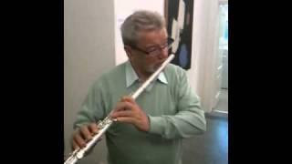 Sir James Galway - Swarovski Pearl Flute