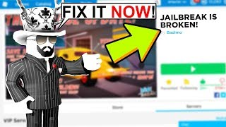 This Secret Code in Jailbreak will BREAK YOUR GAME... SORRY ASIMO! (Roblox)