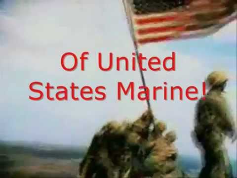 Halls of Montezuma  Marine anthem with lyrics