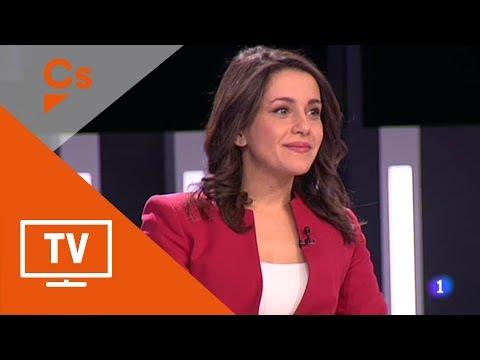 """Inés Arrimadas. Intervenciones en """"El debat de la 1"""" de TVE Cataluña"""