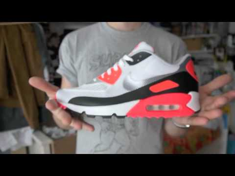cheaper 771e6 14f5d Review  Nike Air Max 90 Infrared Hyperfuse review and on feet, 2012 pickup