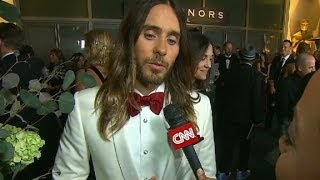 "Jared Leto on his Oscar:  ""It"