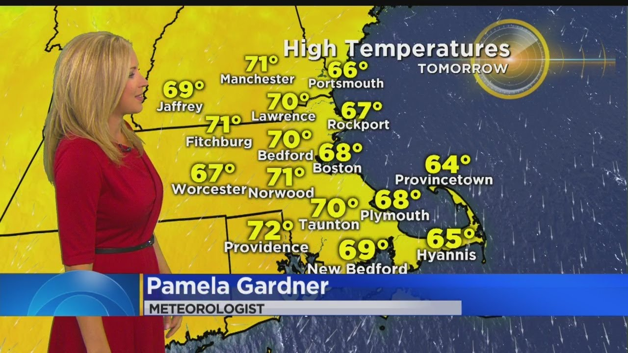 WBZ Afternoon Forecast For October 1