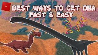 ROBLOX Dinosaur Simulator | Fastest & Best ways to get DNA