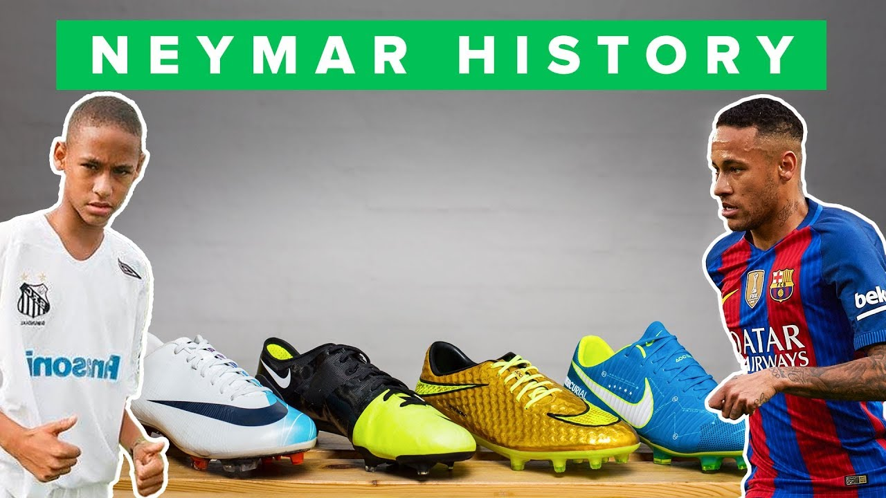 5a9d48a06 ALL NEYMAR NIKE FOOTBALL BOOTS - YouTube