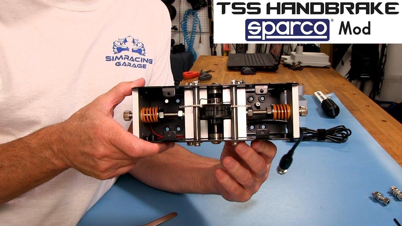 Thrustmaster TSS Handbrake Sparco Mod Review