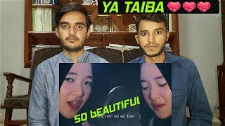Foreigner Reacts To YA TAIBA MISHARY RASHID COVER SABYAN GAMBUS