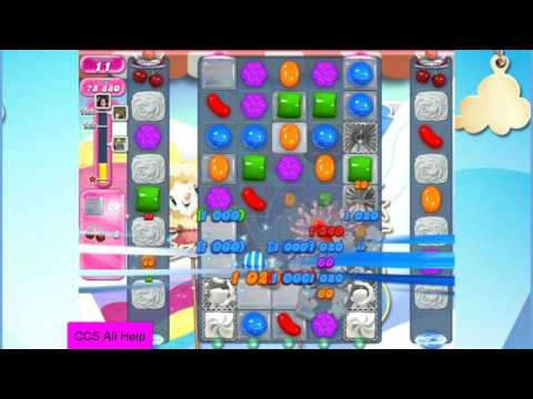 Candy Crush Saga Level 2224 NO BOOSTERS Cookie