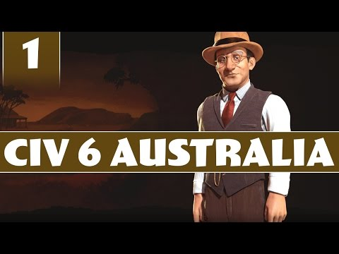 Civilization 6 - Let's Play Australia - Part 1 [Civ 6 Modded Gameplay with AI+]