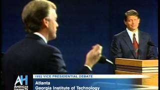 1992 Vice Presidential Debate Clip