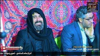 بكاء الفنان صلاح البحر في فاتحة شقيقه سالم بحر وبكاء الفنانين التصوير منتظر حامد الساعدي