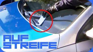Knöllchen am Polizeiauto: Ist das Ordnungsamt dafür verantwortlich? | Auf Streife | SAT.1 TV