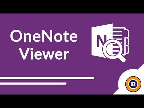 Free OneNote Viewer - How to Open OneNote Files Without OneNote