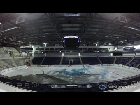 Pegula Ice Arena - Ice Removal Time Lapse 2016