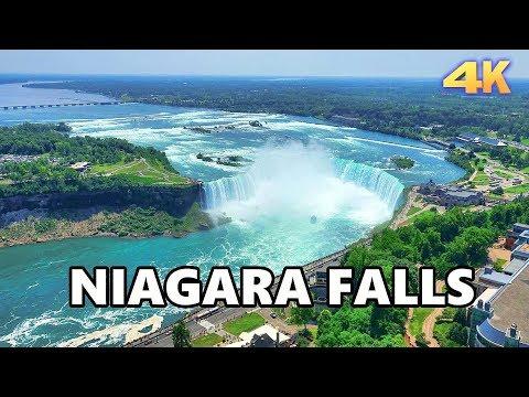 NIAGARA FALLS - ONTARIO, CANADA 4K