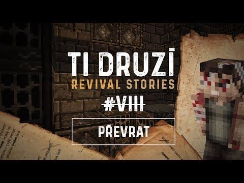 """Ti Druzí: Revival Stories #8 """"Převrat""""   CMM   Český Minecraft Zombie Film / Seriál"""