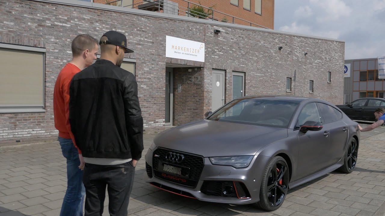De Audi Rs7 Van Mr Probz In Een Nieuw Jasje Youtube