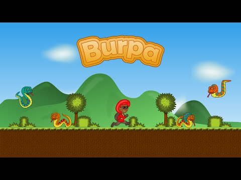 Burpa: classic 2D platform game/sidescroller for Android