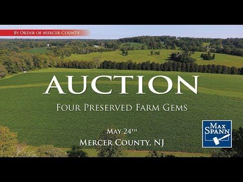 Four Preserved Farm Gems, Mercer County, NJ AUCTION