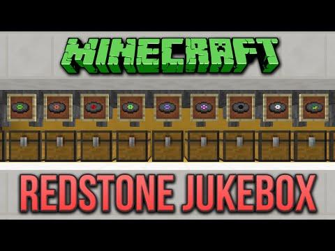 Minecraft: Redstone Jukebox Tutorial