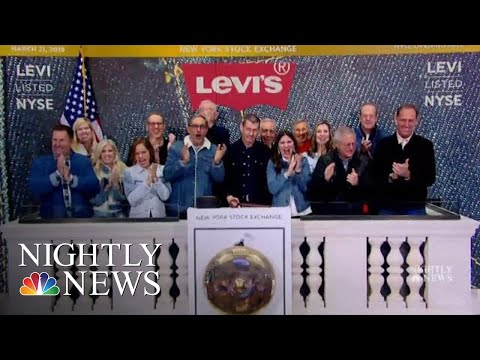 Looking Back On Levi Strauss's Legacy As Iconic Brand Goes Public | NBC Nightly News