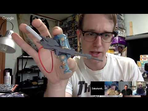 Gunpla Talk #27 - Special Guest Michael Wine, Weathering!