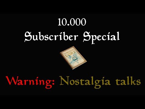 10.000 Subscriber Special! Talking about the channels history, future, myself and other channels