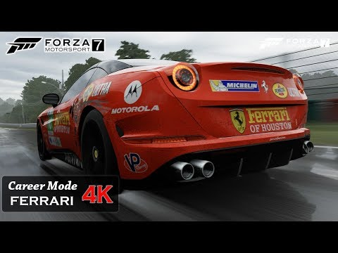 Forza Motorsport 7 [4K] Onboard Ferrari California Evolution